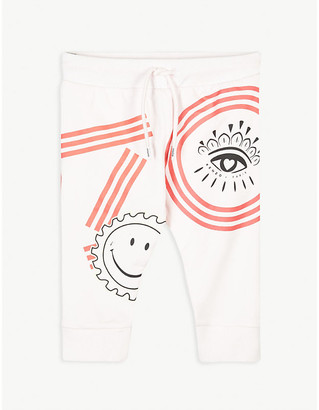 Kenzo Ice cream print cotton jogging bottoms 6-36 months