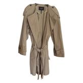 Isabel Marant Beige Cotton Trench coat