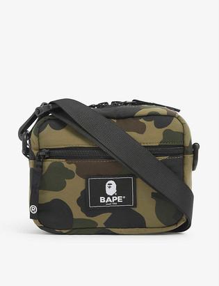 A Bathing Ape Camouflage-print mini shoulder bag