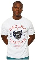 Crooks & Castles Mens The Decade Of Excellence Graphic T-Shirt S