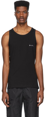Gianni Versace Versace Underwear Black Tank Top