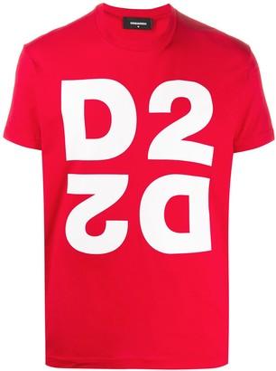 DSQUARED2 mirror logo-print T-shirt