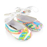 Roberto Cavalli Roberto CavalliBaby Girls Colourful Print Pre Walkers
