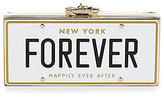 Kate Spade Wedding Belles Collection Forever License Plate Clutch
