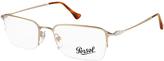 Persol Light Gold Eyeglass Frames