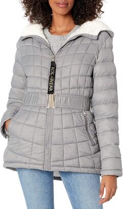 Rocawear LADIES Glac Shield Anorak + Faux Fur