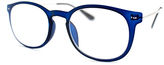 A. J. Morgan Matte Blue Comfortable Readers