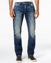 Lrg Men's RC True Tapered-Fit Liquid Indigo Wash Jeans