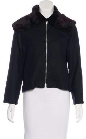 Yang Li Virgin Wool Minimal Harington Jacket