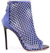 Grey Mer Greymer Women's Blue Leather Heels.