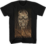 JCPenney Novelty T-Shirts Terminator Melting Metal Graphic Tee