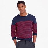 J.Crew Lightweight cotton crewneck sweater in nautical stripe