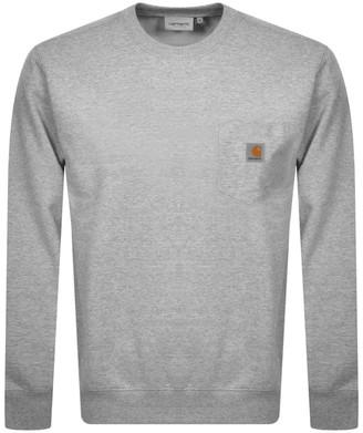Carhartt Pocket Sweatshirt Grey