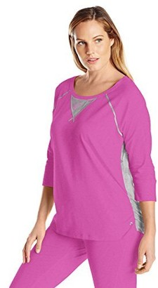 Rainbeau Curves Women's Plus-Size Elaine Tee