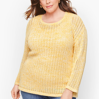 Talbots Open Stitch Sweater - Space Dyed