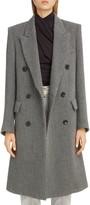 Isabel Marant Stripe Wool Menswear Coat