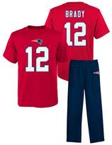 New EnglandPatriots Tom Brady Pajama Set - Boys 4-7x