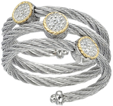 Alor Classique 18K Gold Stainless Steel Diamond Ring