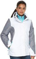 ZeroXposur Women's Brielle Hooded 3-in-1 Systems Jacket