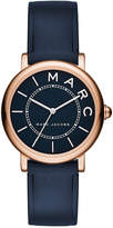 Marc by Marc Jacobs Women's Roxy Navy Leather Strap Watch 28mm MJ1539