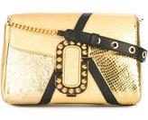 Marc Jacobs St. Marc metallic shoulder bag - women - Leather - One Size