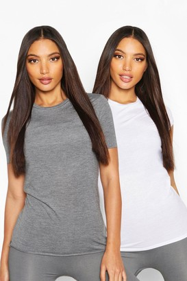 boohoo Fit 2 Pack Gym T-shirts