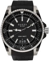 Gucci Black Dive Watch