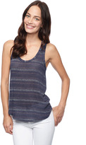 Splendid Metallic Stripe Tank