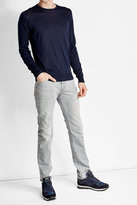 John Smedley Cotton and Cashmere Pullover