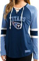 "Majestic Tennessee Titans Women's NFL ""Winning Style"" Long Sleeve Shirt"