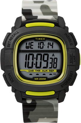 Timex Boost Shock Resistant Digital Silicone Strap Watch, 47mm