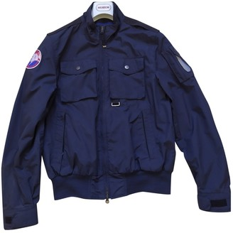 Museum Blue Synthetic Jackets