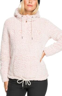 Roxy Pluma Fleece Quarter Zip Hoodie