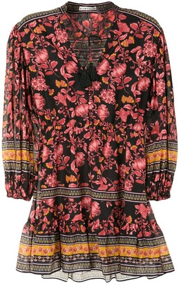 Alice + Olivia Sedona floral print mini dress