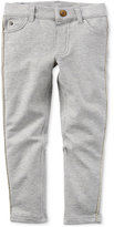 Carter's Tuxedo-Stripe Jeggings, Little Girls (2-6X)