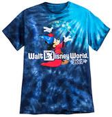 Disney Sorcerer Mickey Mouse Tie-Dye Tee for Men - Walt World 2017