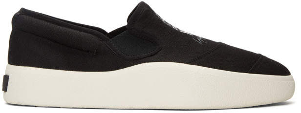 Y-3 Black and White Tangutsu Sneakers
