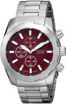 Android Men's AD695BR Tribeca Analog Japanese-Quartz Silver Watch