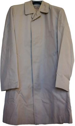 Aquascutum London Beige Cotton Coat for Women Vintage