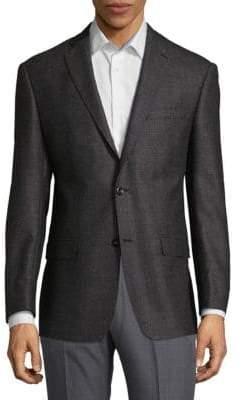 Michael Kors Textured Wool Sportcoat