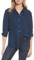 DL1961 Women's X The Blue Shirt Shop W 4Th & Jane Slim Fit Shirt