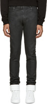Maison Margiela Black Coated Jeans