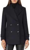 Reiss Malia Wool Peacoat