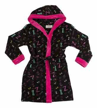 Joe Boxer Big Girl's Sleepy Head Robe Sleepwear