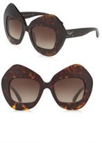 Dolce & Gabbana 51MM Pentagonal Sunglasses