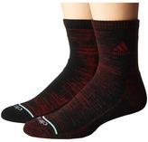 adidas Frequency High 2-Pack Quarter Socks