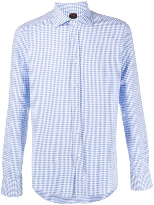 Mp Massimo Piombo Gingham Print Shirt