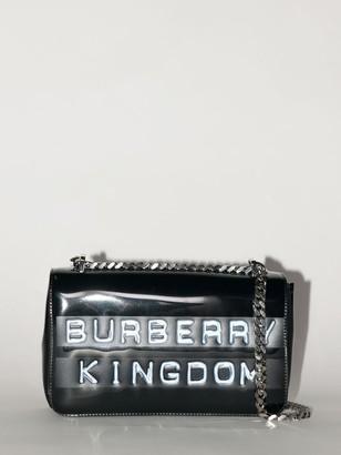 Burberry Debossed Logo Shoulder Bag