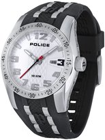 Police Men's Prowler PL.12557JS/01 Black Rubber Quartz Watch with Dial