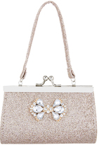 Monsoon Jewel Bow Glitter Mini Bag